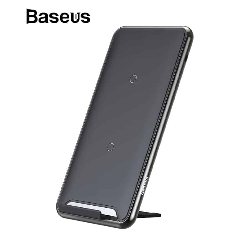 promo code 5b357 f9429 Baseus 10W 3 Coils Wireless Charger For iPhone X/XS Max XR Samsung S9 Note9  Xiaomi Oppo Multifunction Qi Wireless Charging pad
