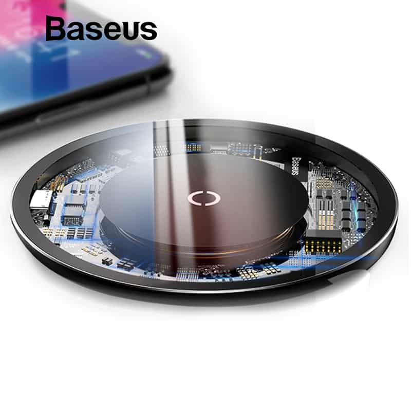 buy online df37a f16b1 Baseus 10W Qi Wireless Charger for iPhone X/XS Max XR 8 8 Plus Samsung S8  S9/S9+ Note 9 8