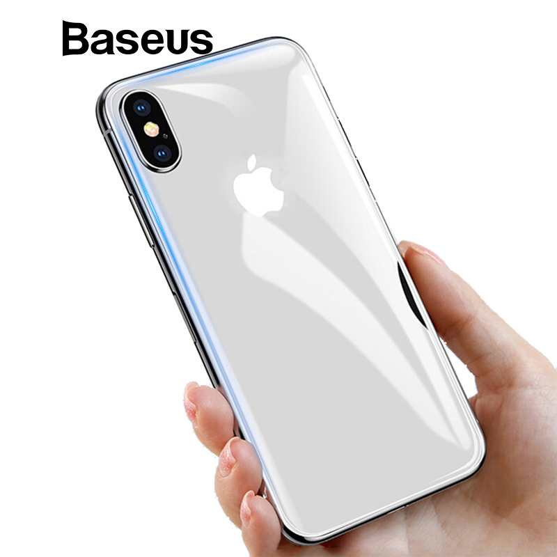 reputable site a8ea3 7b6fd Baseus Ultra Thin Back Glass Film For iPhone Xs Max Xs XR