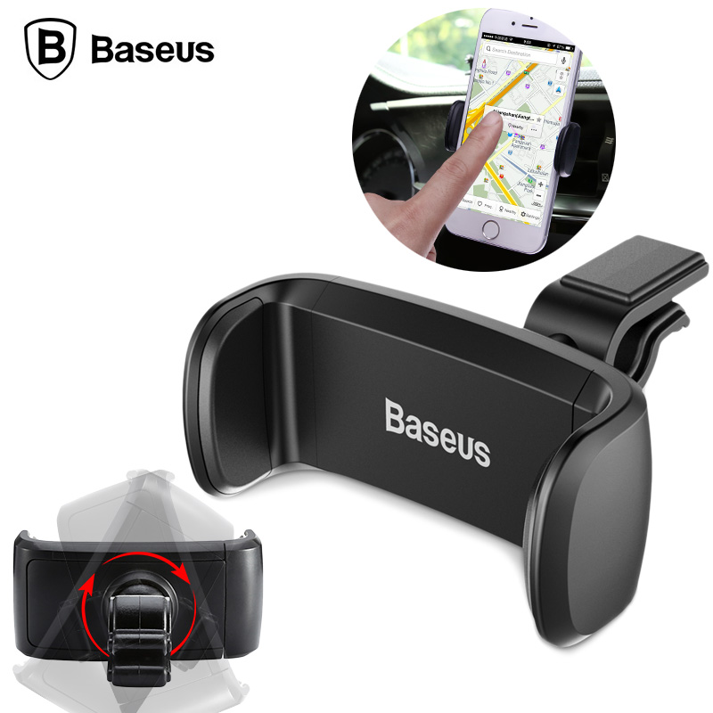 Baseus 360 Adjustable Air Vent Car Phone Holder Baseus